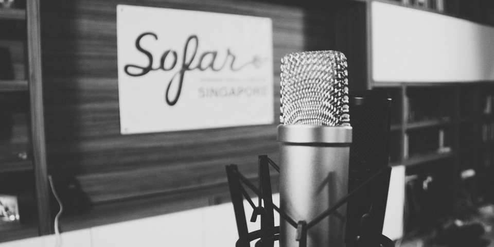 Sofar Sounds Sessions in Singapore: The First