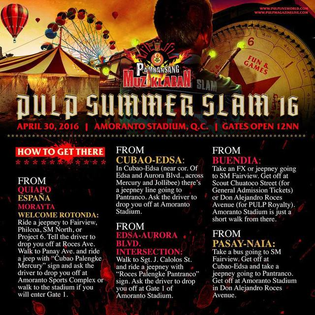 Snakes Is The Direction Game Like Wormies The Lines Are: Bandwagon's Guide To Pulp Summer Slam 16