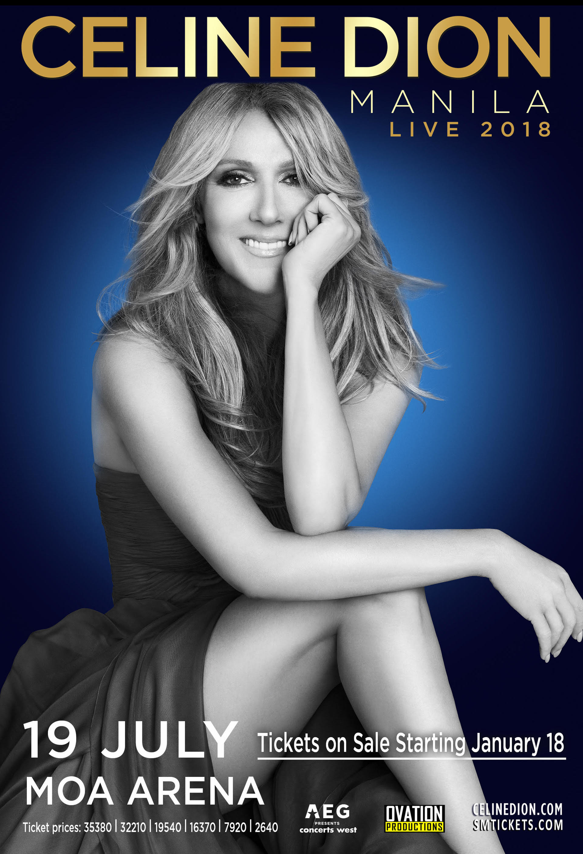 Celine Dion Is Coming To Manila Ticket Prices Revealed