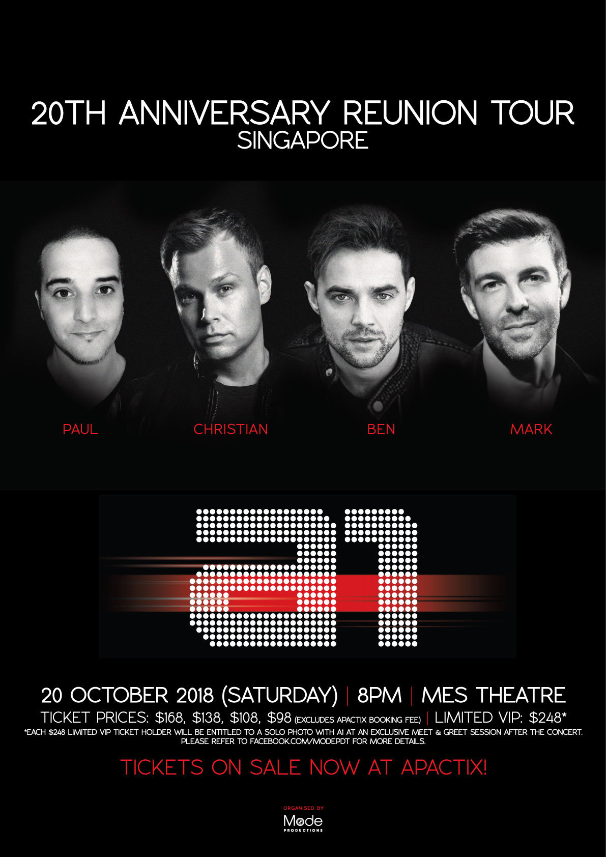 Boyband a1 reunite for 20th anniversary tour which is coming to an error occurred m4hsunfo