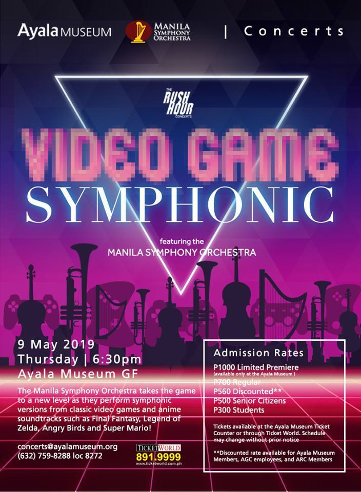 Manila Symphony Orchestra to perform video game soundtracks