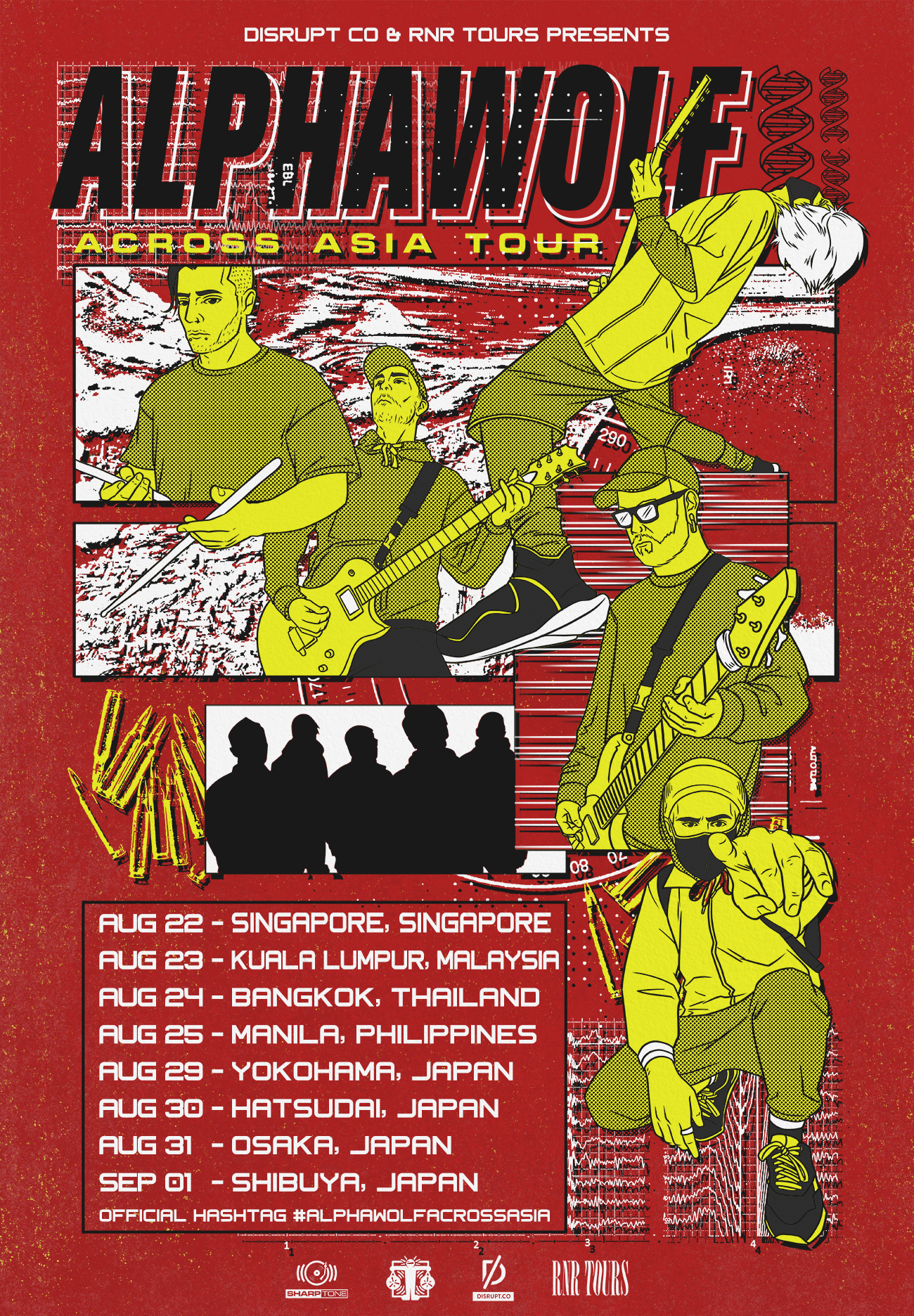 Alpha Wolf announce Asia tour – Shows in Singapore, Kuala