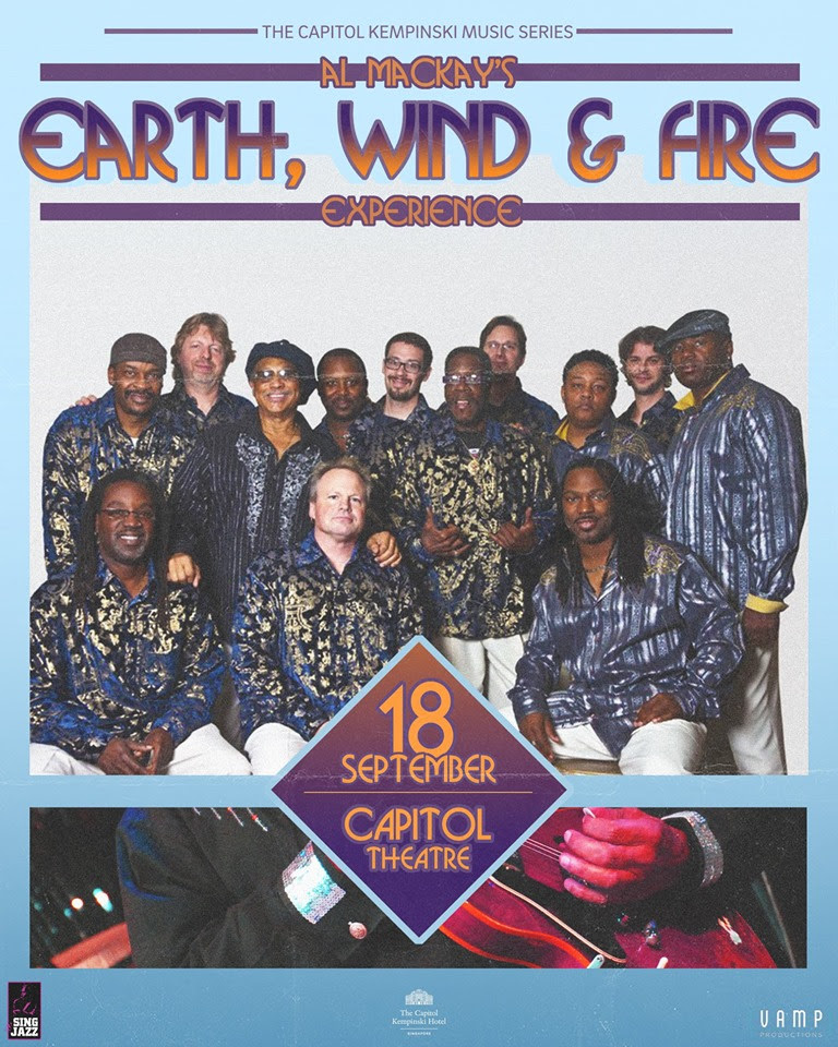 Al McKay's Earth, Wind & Fire Experience to perform in