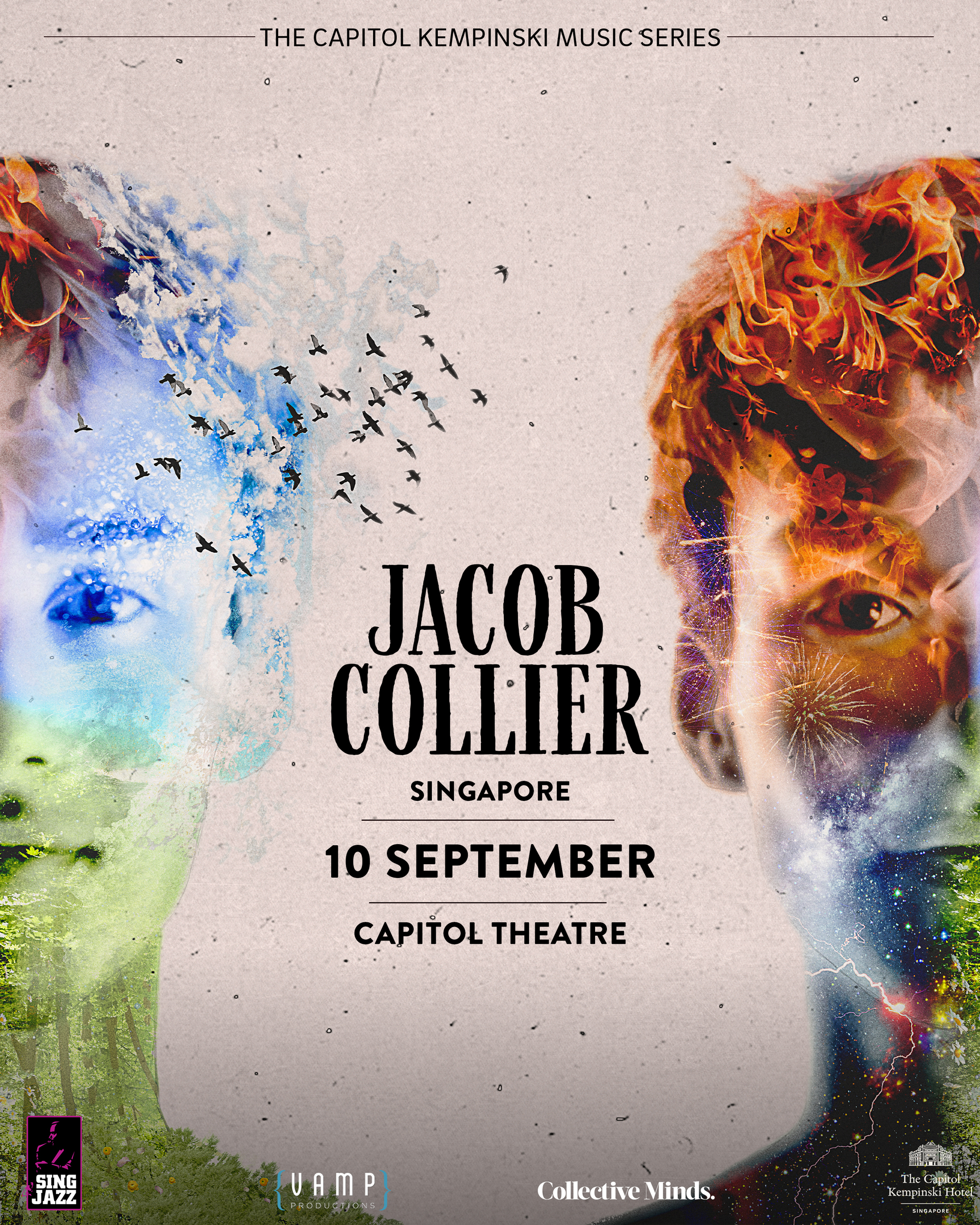 Jacob Collier to perform in Singapore this September