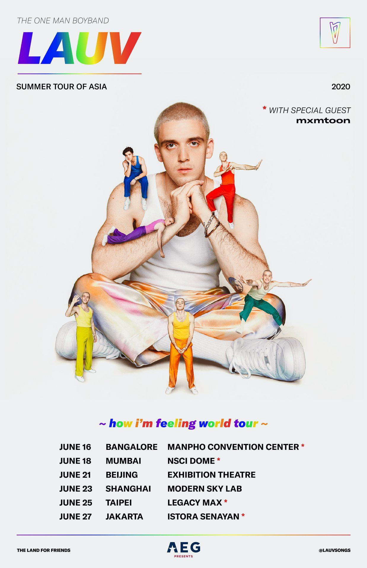 Shawn Mendes Tour 2020.Lauv Announces Asia 2020 Tour Shows In Jakarta Taipei