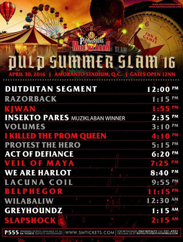 Pulp Summer Slam 2020.Bandwagon S Guide To Pulp Summer Slam 16 Bandwagon Music
