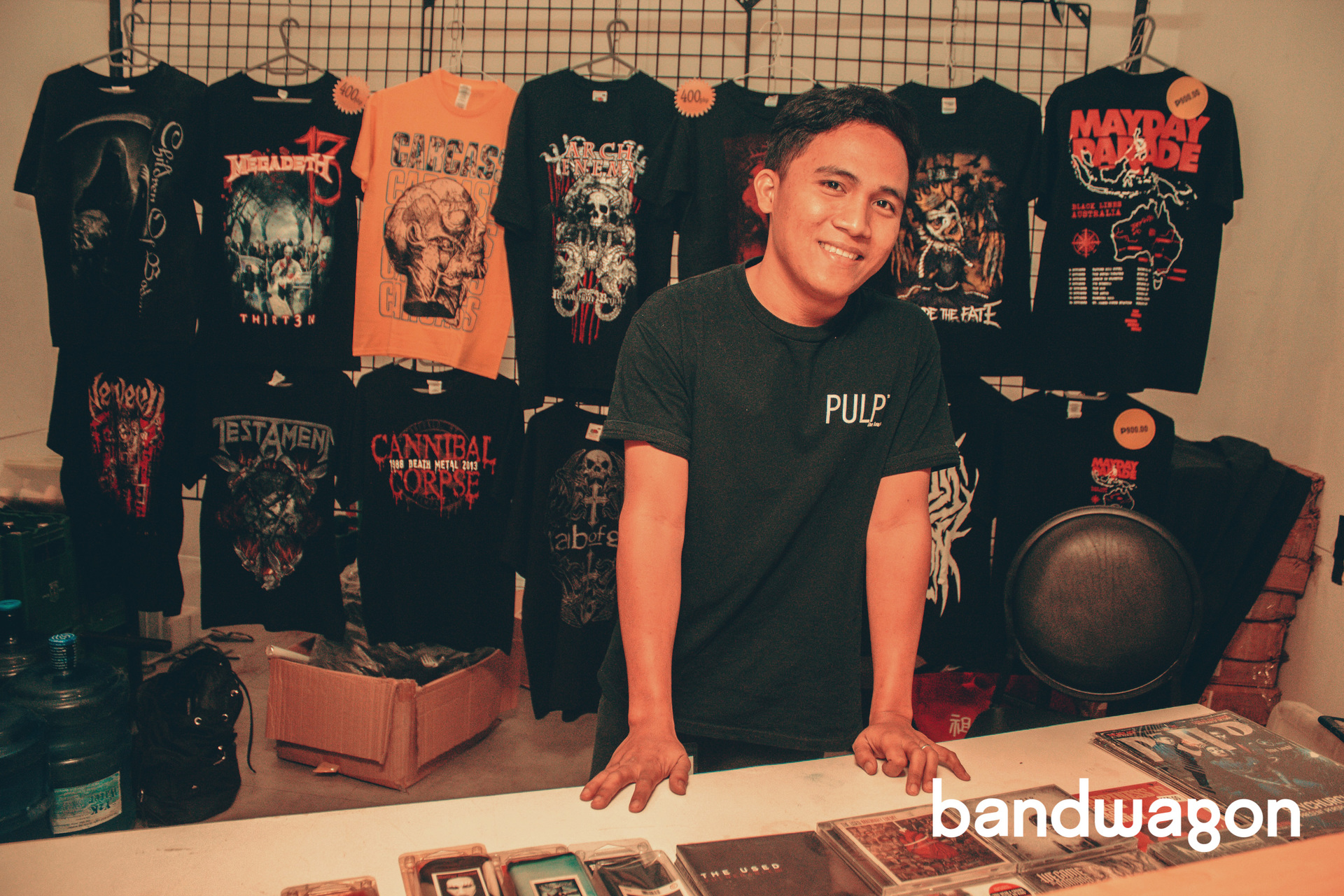 Behind The Scene Pulps Weekend With Mayday Parade And Escape The