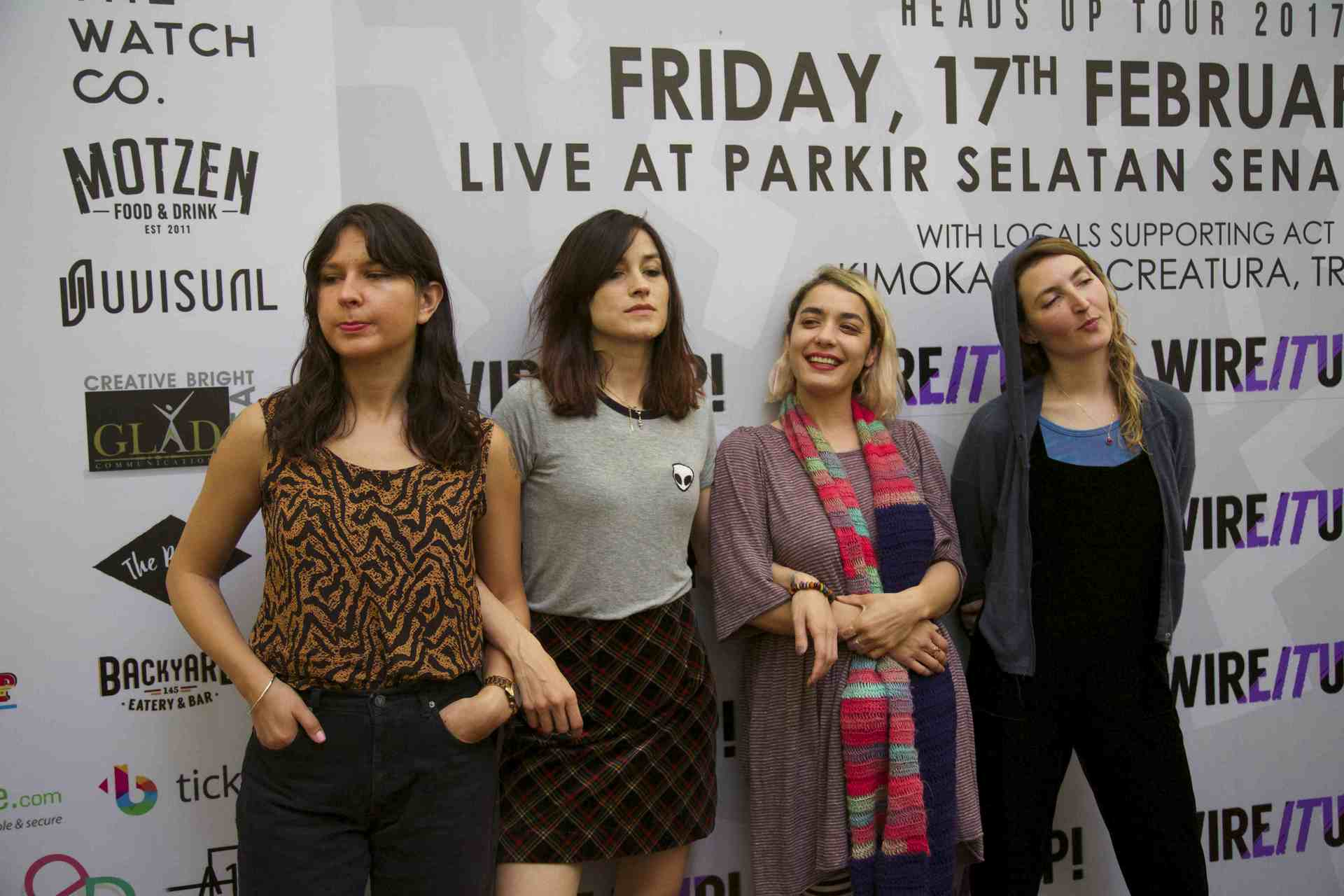 warpaint interview 2017 indonesia