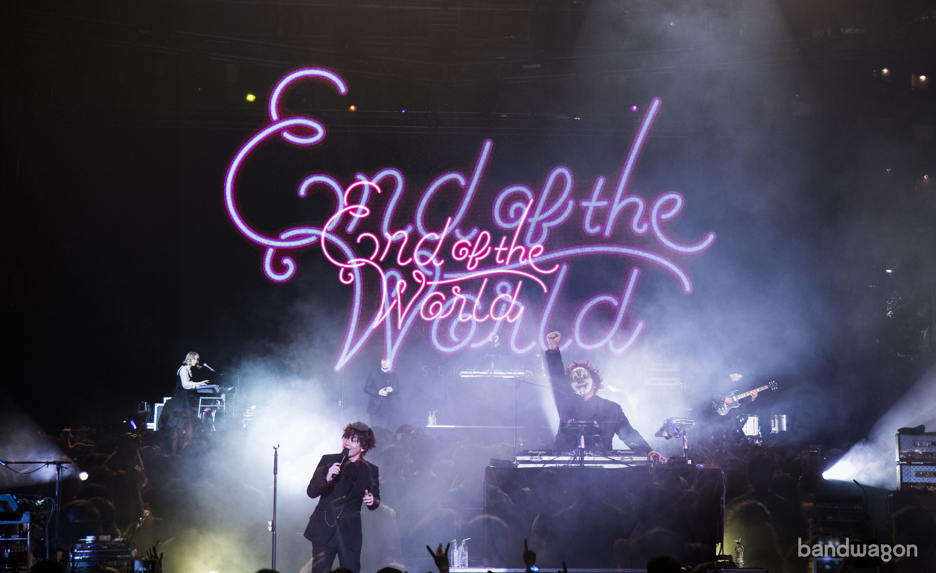 sekai no owari, singapore, concert, the coliseum, 2017
