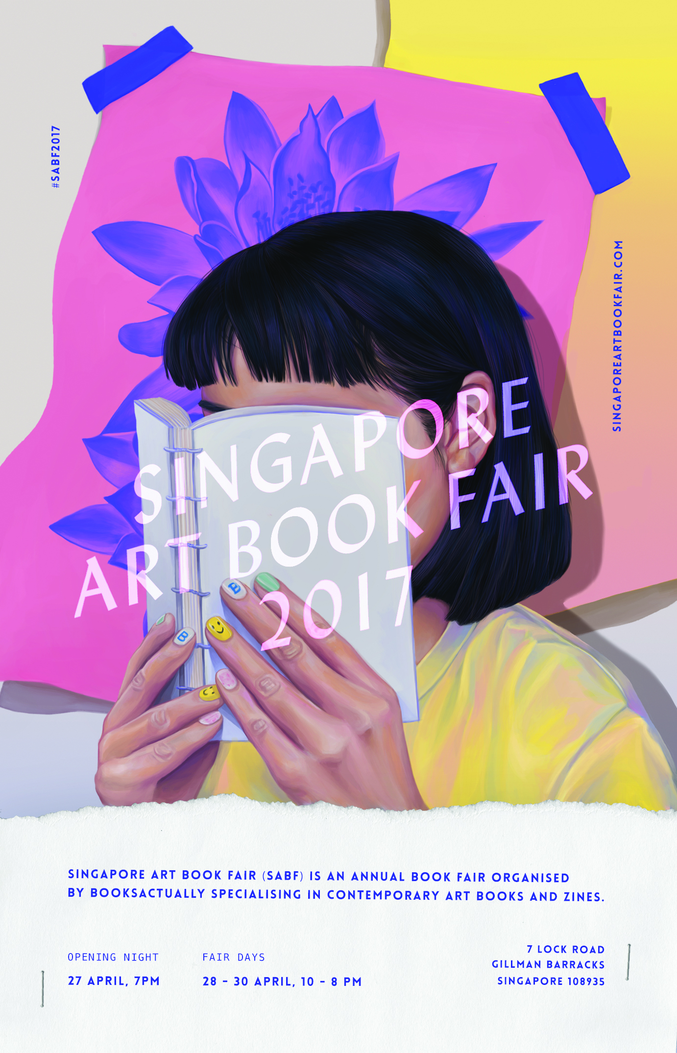 singapore art book fair 2017 gillman barracks art exhibition