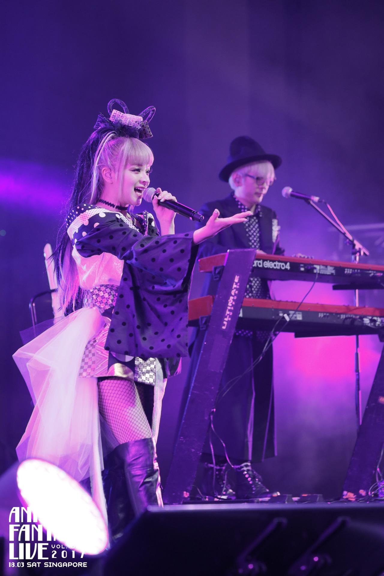 garnidelia anisong fantasy live 2017 singapore