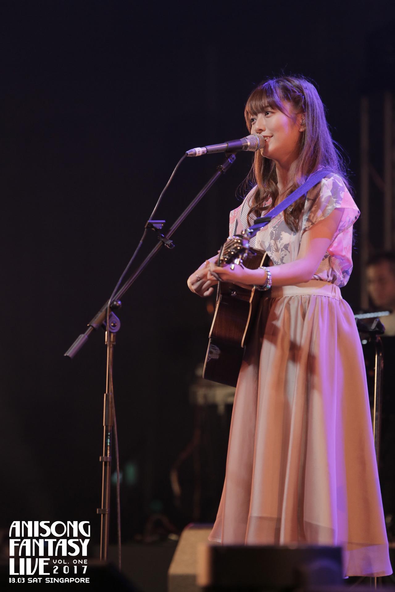 alisa takigawa anisong fantasy live 2017 singapore