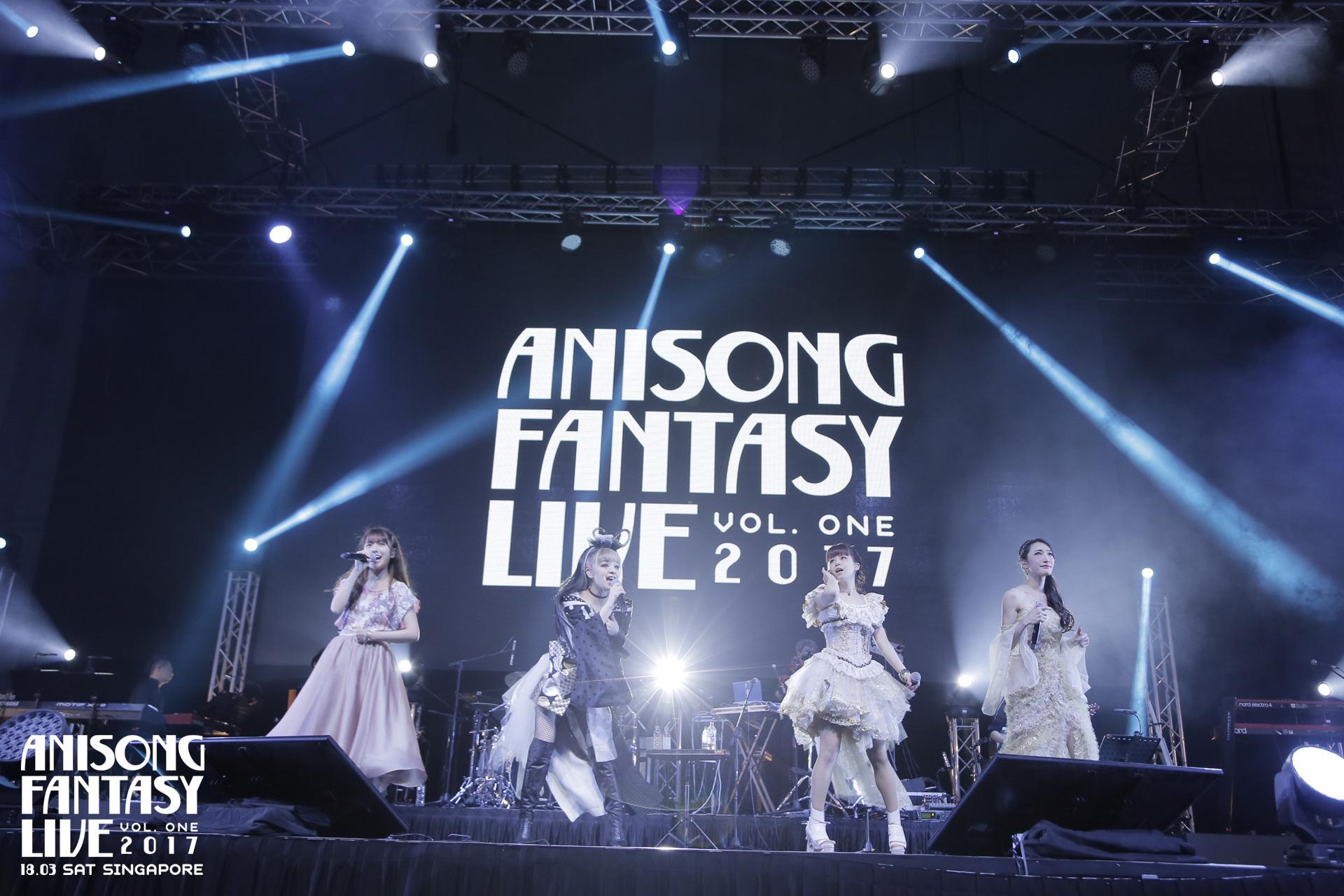 garnidelia luna haruna anisong fantasy live 2017 singapore