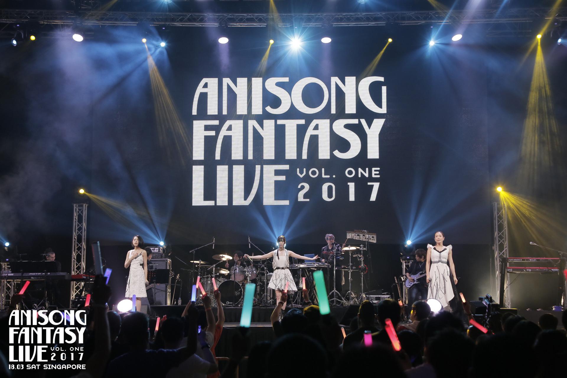 kalafina anisong fantasy live 2017 singapore
