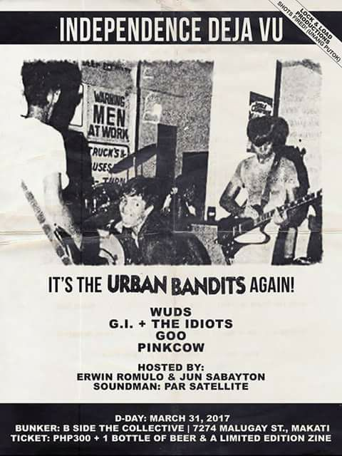 The Urban Bandits to perform at B-Side, The Collective for