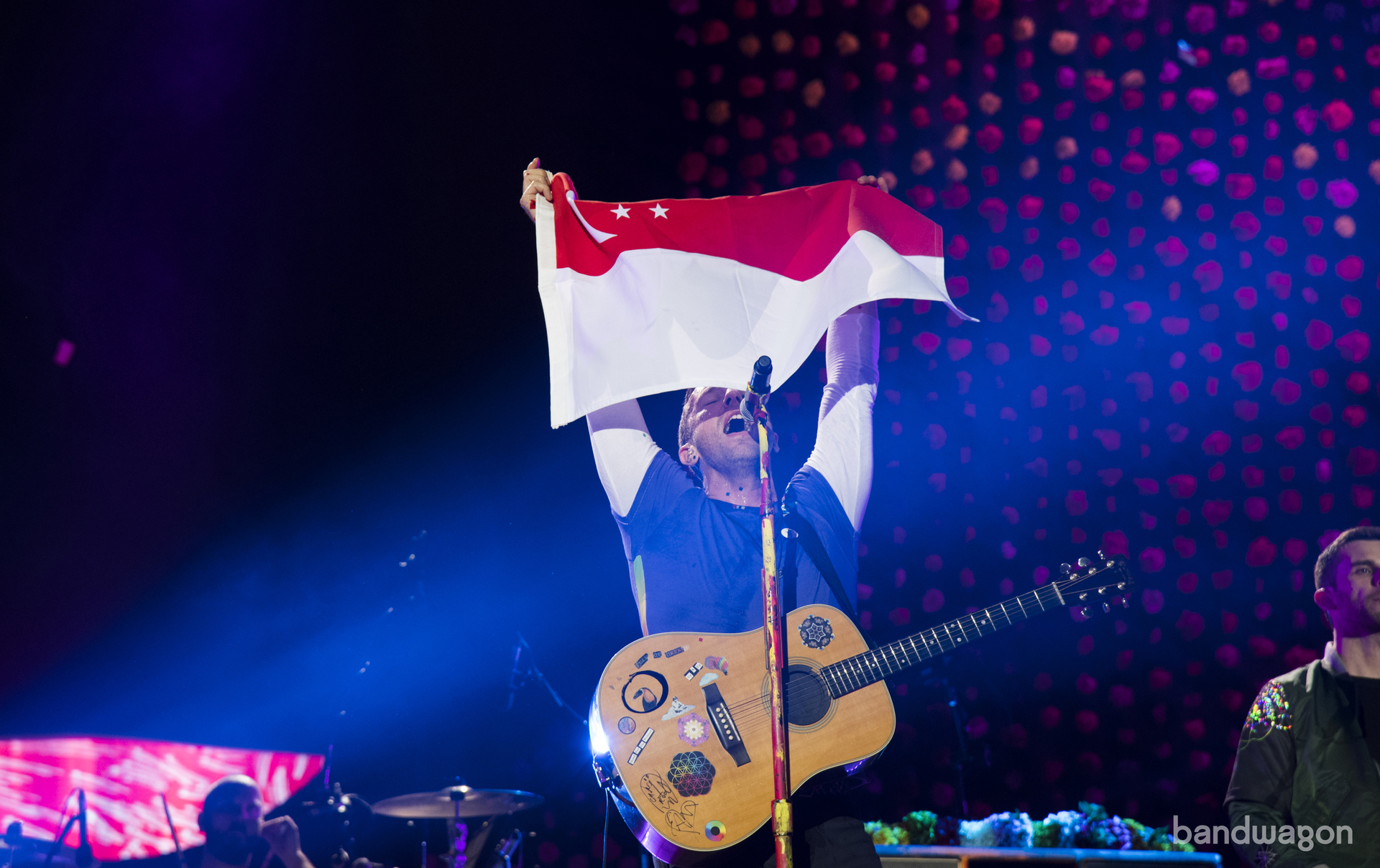 coldplay, coldplay singapore, coldplay 2017, sports hub, concert