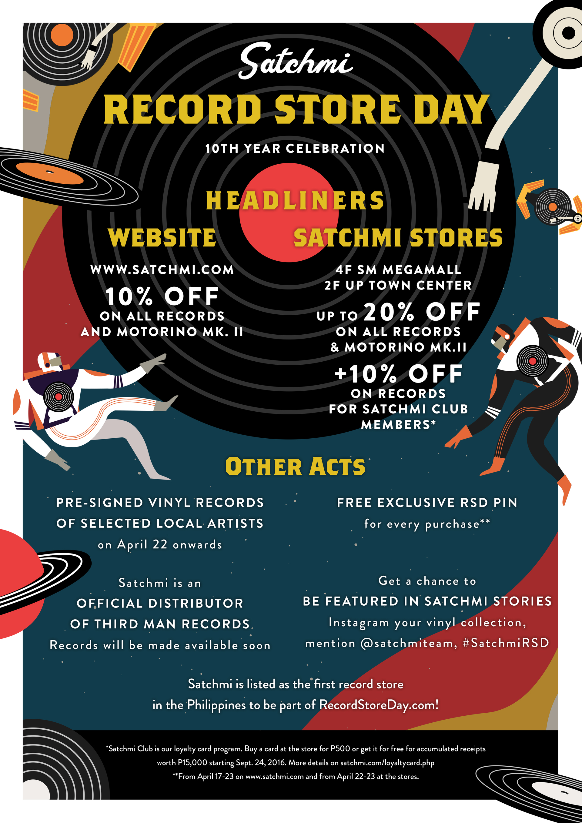 Satchmi Joins Official List Of Record Store Day Stores