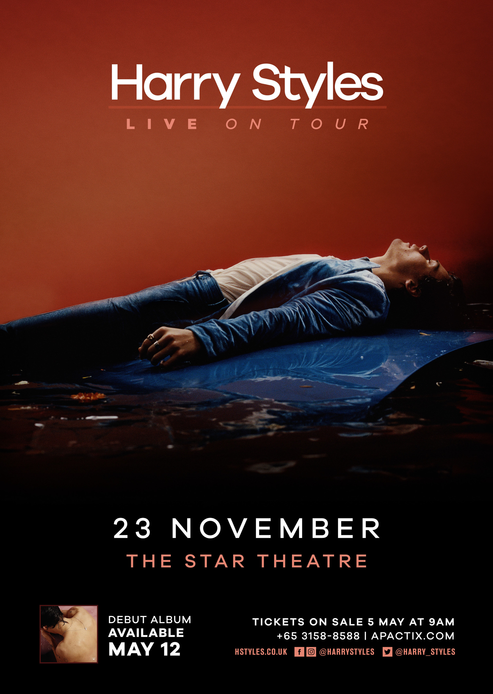 harry styles singapore the star theatre one direction