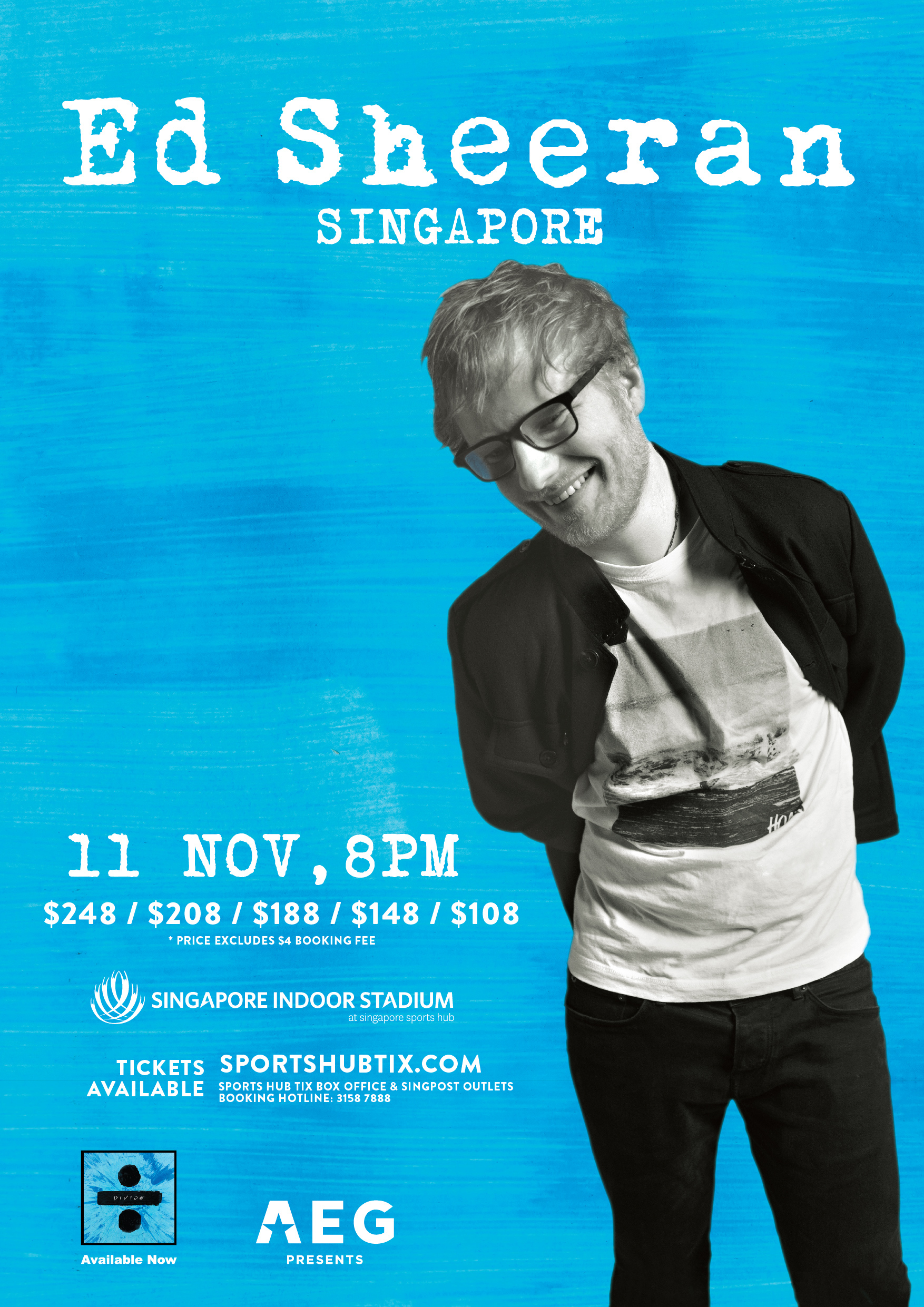 ed sheeran singapore concert 2017 singapore indoor stadium concert