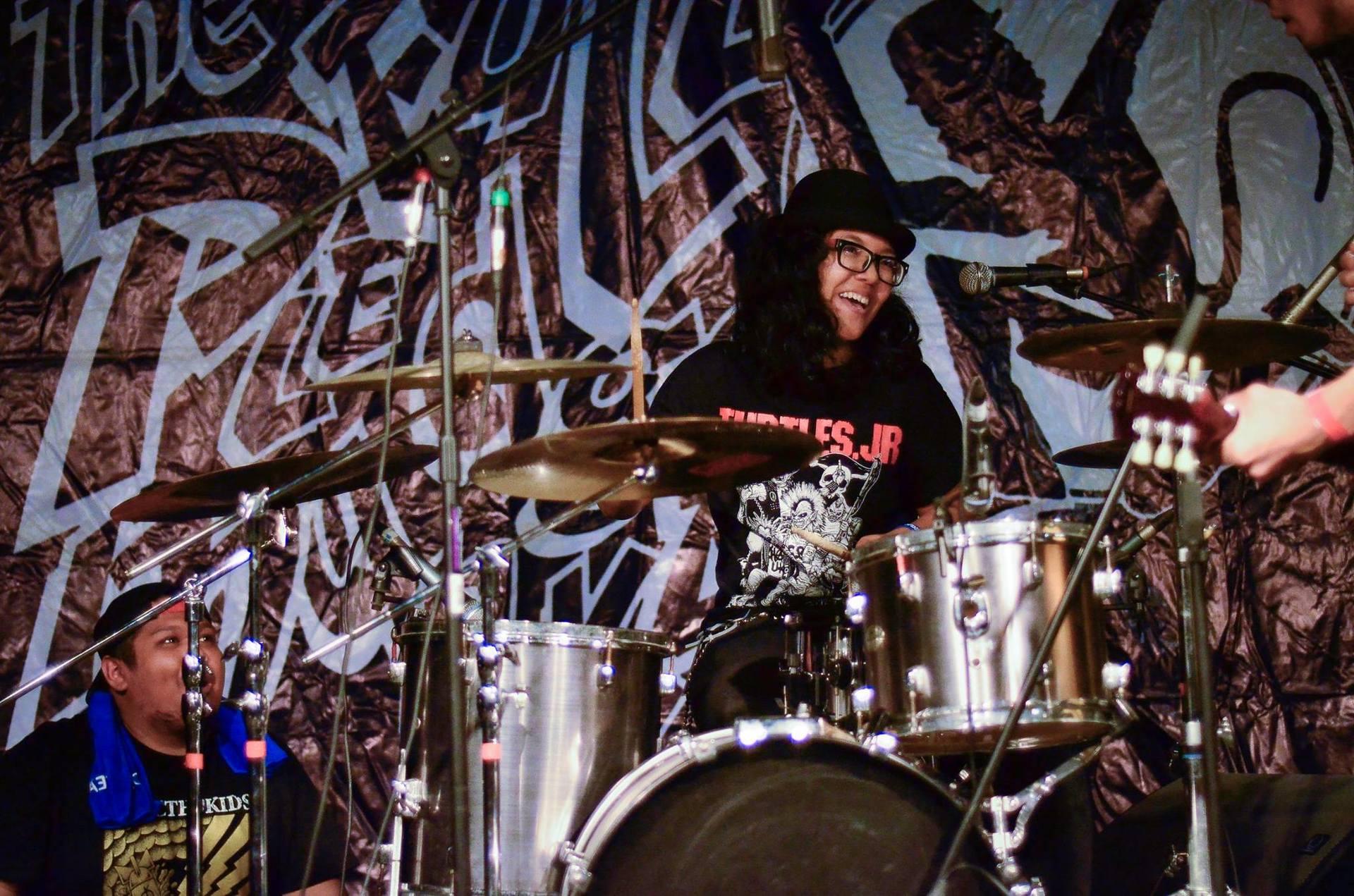 puteri nurainn singapore drummer singapore drum fest