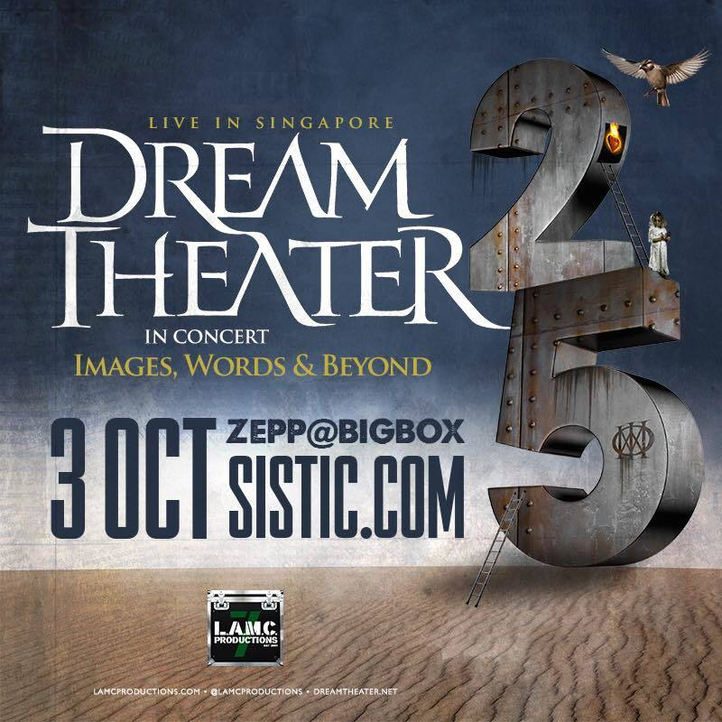 dream theater singapore zepp big box 2017 images and words