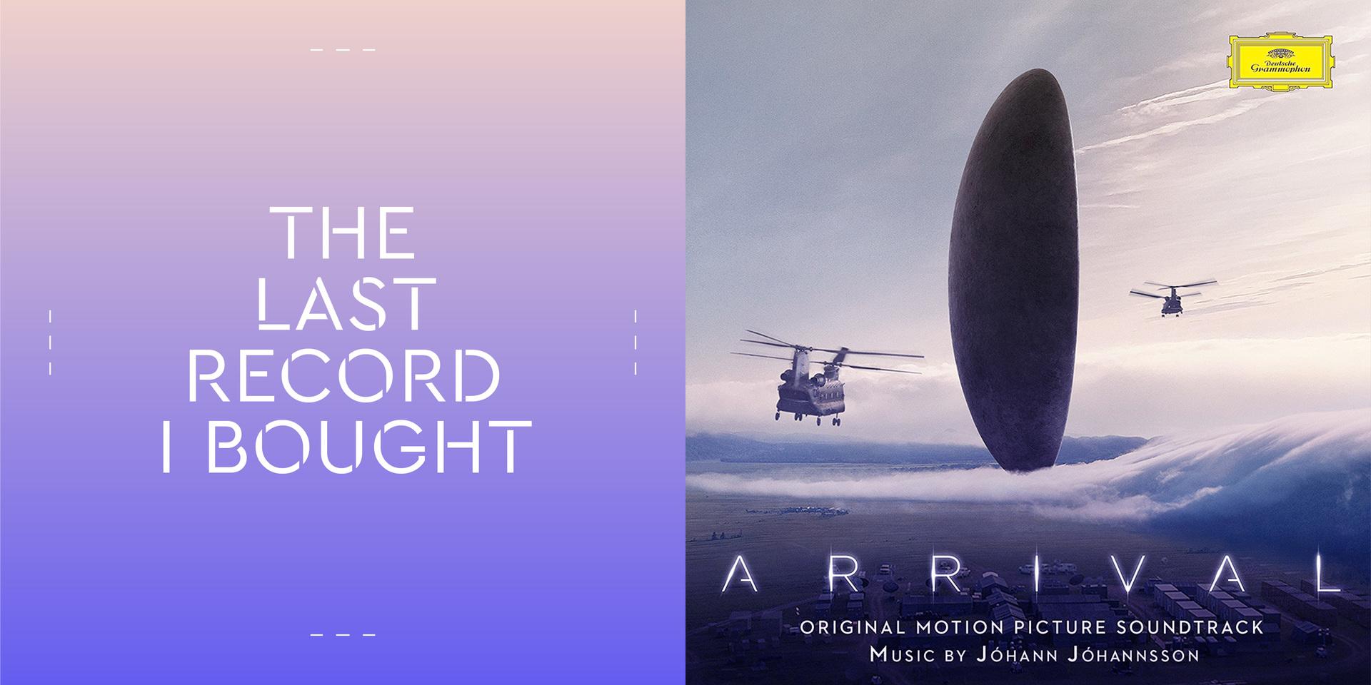 Arrival film score soundtrack Jóhann Jóhannsson