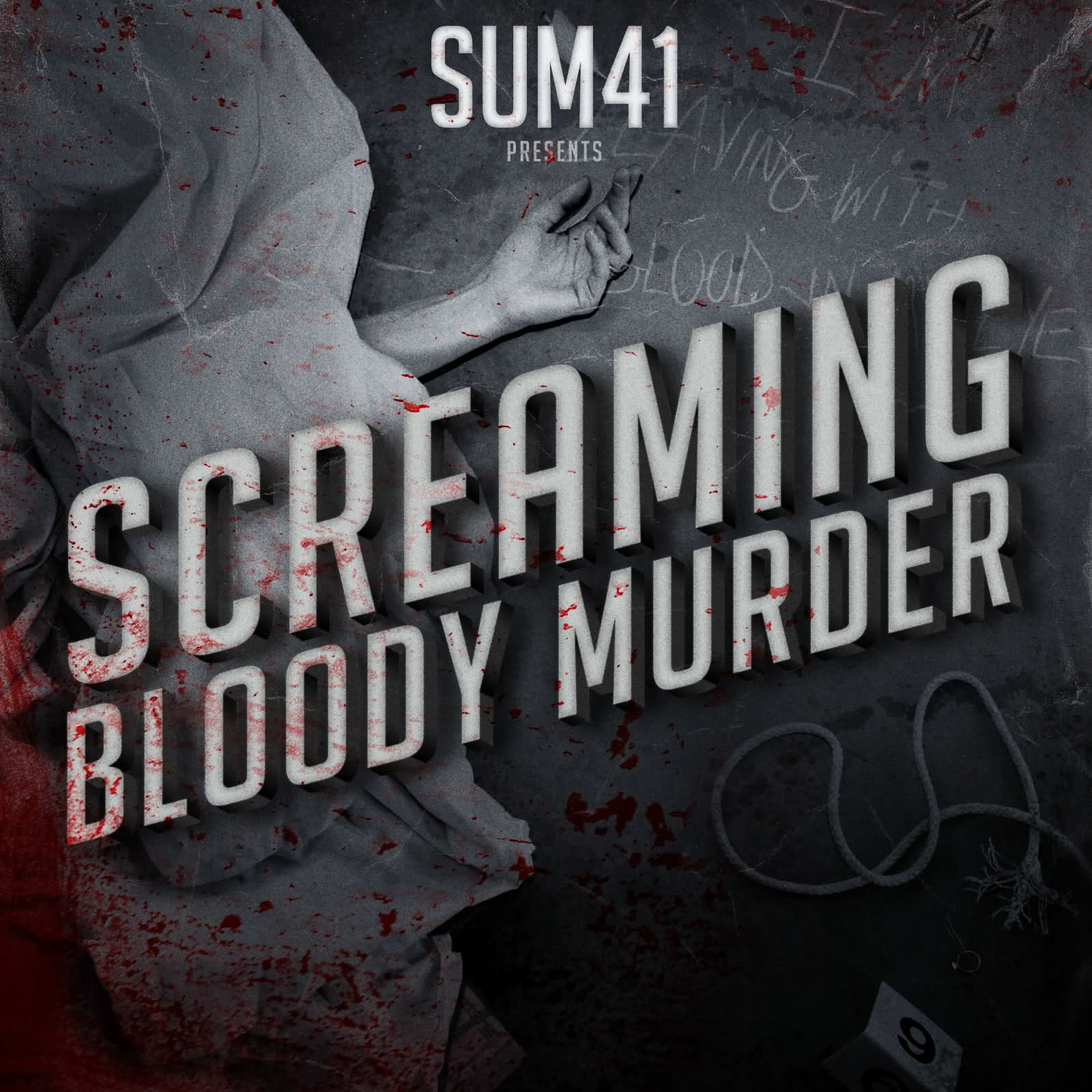 sum 41 screaming bloody murder deryck whibley