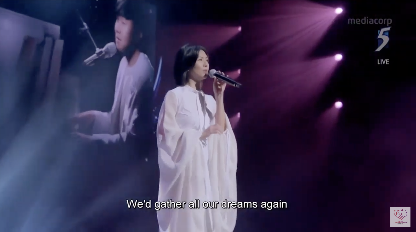 NDP 2020 Stay With You, Stefanie Sun, JJ Li,  Heema Izzati Zainudin