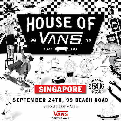 Skateboarding demos, gigs, art installations, design workshops at a former police station. It's the House of Vans. Click to find out more!